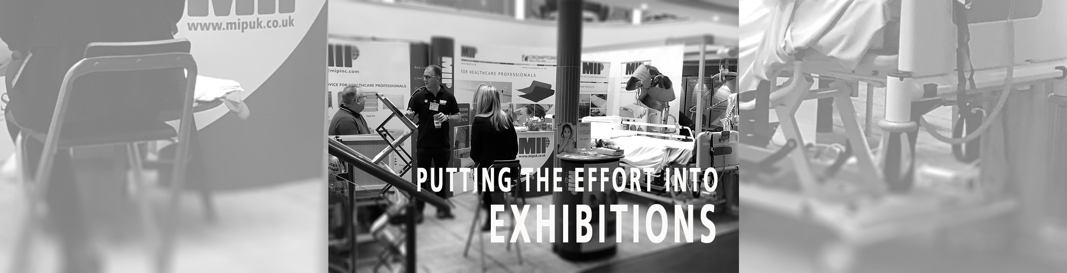 Putting the effort into Exhibitions